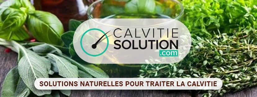 solutions naturelles pour traiter la calvitie